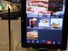 iPad in airport bar (Minneapolis)