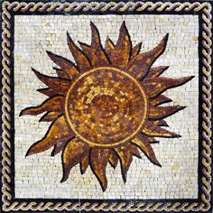 Shining Sun Mosaic