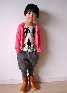 tops : mini rodini, pants : Franky grow