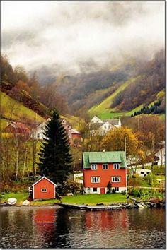 Sognefjord in Bergen, Norway