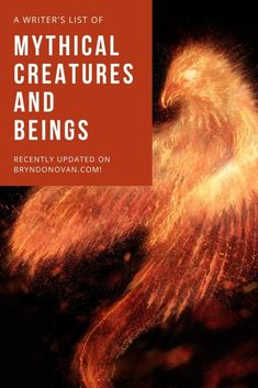 Humanoid Mythical Creatures, Mythical Creatures List, Mythological Creatures, Fantasy Creatures, Writing Lists, Book Writing Tips, Writing Words, Fiction Writing, Writing Prompts