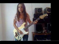 Foxy Lady (Jimi Hendrix) cover by Eva Vergilova - YouTube