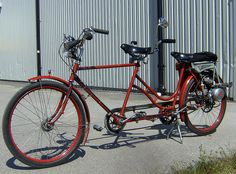 Tandem with help engine
