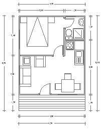 planos de casas pequenas 30m2