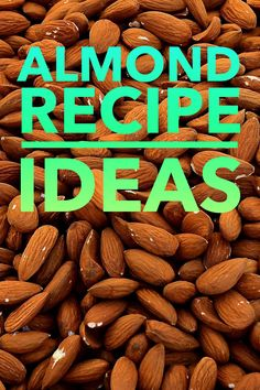 Great ideas on what to do with this delicious, superfood nut! Raw Almonds, Natural Energy, What To Make, Biotin, Almond Recipes, Superfood, Food To Make, Vitamins, Favorite Recipes