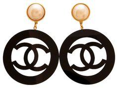 Vintage Chanel earrings super rare