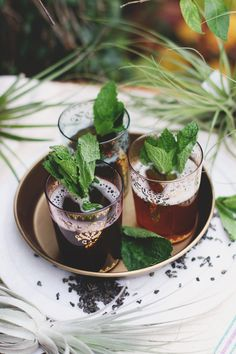 Traditional Moroccan Mint Tea Recipe on the blog