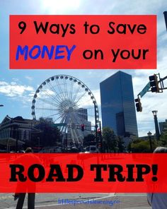 My family and I love a good road trip and we love to save money! They are so much fun! For us, part of vacation is getting there.