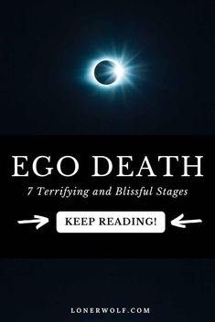 Letting go of the ego can be scary - but it is the most illuminating, awe-inspiring, expansive, enlightening, and paradigm-shattering experience you could ever have. Have you experienced ego death? Here are 7 stages you will experience ... #lettinggoofego #egoquotes #egodeath #egovssoul #enlightenment #ascension #spiritualawakening #spiritualawakeningsigns #spiritualawakeningstages Spiritual Awakening Stages, Spiritual Path, Letting Go Of Ego, Ego Vs Soul, Ego Quotes, Self Exploration, Spiritual Transformation, Soul Connection, Self Compassion