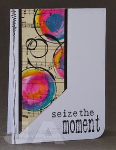 Seize the moment card