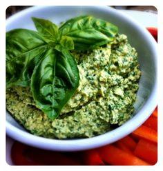 Kale Hummus #vegan