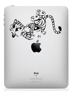 Laughing Calvin And Hobbes iPad Decal Where can I get one??????