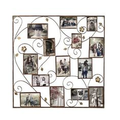 Found it at Joss & Main - 14 Opening Decorative Bronze-Color Iron Photo Collage Wall Hanging Picture Frame