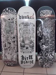 Breakcore Skateboard Hirntrust Grind Koloss Design Party Labels Electronic Products Design