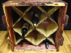 Wine Rack Plans Dimensions | Eastern Red Cedar planed and cut from rough lumber from mill in Middle ...