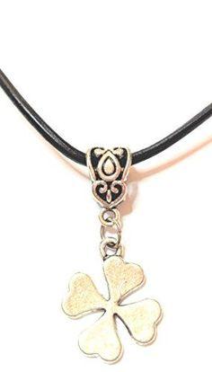 Pendant Necklace, Jewels, Fashion, Leaf Clover, Silver Pendants, Letters, Pug, Neck Chain, Colour