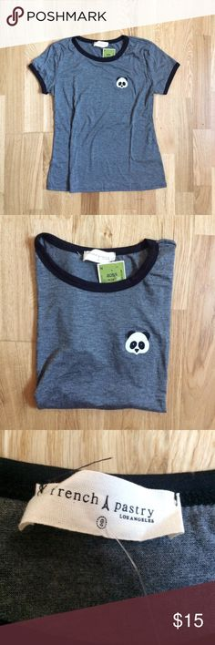 French Pastry panda tee ✌️ Brand new with tags Tops Tees - Short Sleeve