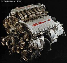 Il V6 Busso Alfa Romeo , tecnologia italiana