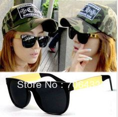 511a2a9f3f Free dropshipping News 2013 Fashion Frames Designer sunglasses for Women  coat Black Gold cool jackets sports