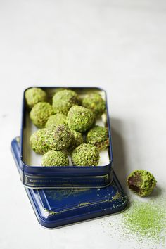 "Click here to get more ""Recipes for a Clean Green Summer Menu"" ""With decadent dark chocolate, rich and earthy Matcha powder, and heart-healthy pistachios, this is the perfect desert for ...read more"