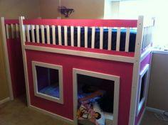 DIY Princess Bed (about $400)