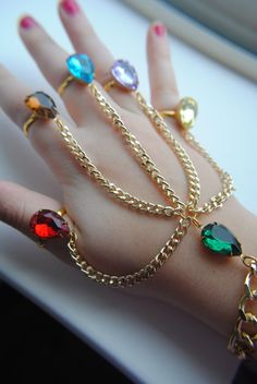 Rule The Universe With The Infinity Gauntlet Hand Chain