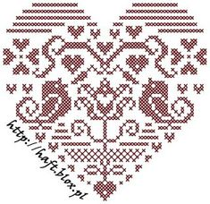 ru / Heart with birds - mainly birds / freebies - Jozephina---PG 1 OF 2 Just Cross Stitch, Cross Stitch Heart, Cross Stitch Samplers, Cross Stitching, Cross Stitch Embroidery, Embroidery Patterns, Cross Stitch Designs, Cross Stitch Patterns, Cross Stitch Freebies