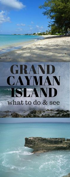 Grand Cayman Island is more than just a cruise stop in the Caribbean! #cruising #Caribbean #grandcayman