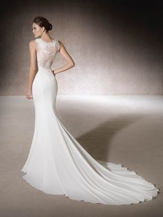 Mermaid wedding dress Mariel