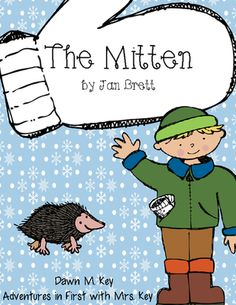 The Mitten by Jan Brett  from Adventures with Mrs Key on TeachersNotebook.com (19 pages)  - The Mitten by Jan Brett is such an enjoyable winter story.   -Cover page  -The Mitten story may (on a mitten-lined option)  -The Mitten story map (on a mitten-no line option)  -The Mitten Questions (5 questions total-recall and comprehension)  -The Mitten