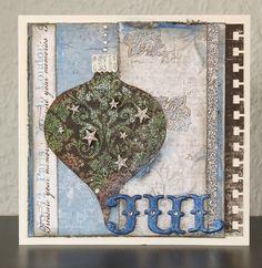 Card christmas ornament decoration christmas baubles - Stjernesus design - Picturing the World - jule kort julekugler - Karte weihnachten -