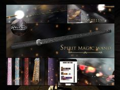 ELEMENTAL - wand, 299LItem 23 of 93  Spirit Magic Wand includes HUD, demo available, 299L.    No Muggles Allowed at the World of Magic! | Seraphim.