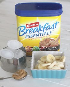 easy chocolate breakfast smoothie recipe for a quick kid breakfast