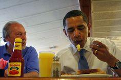 not hotdog. with an intense dude.