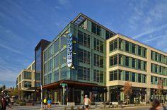 Brooks Sports Headquarters Building by LMN Architects. Photo © Doug Scott. #wanawards #architecture #Seattle #sustainability