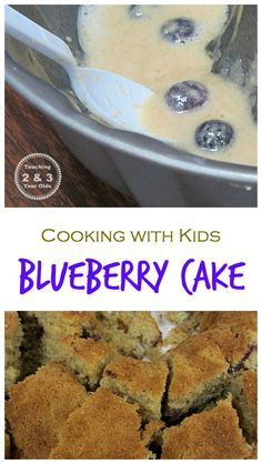 Recipe for Blueberry Cake - Teaching 2 and 3 Year Olds