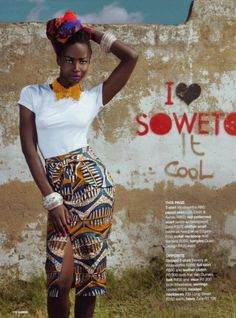i <3 soweto , glamour south africa beaded collar ....&Banana Cape town
