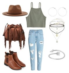 """""""😢😢😢😢"""" by hdwa7539 ❤ liked on Polyvore featuring H&M, Diane Von Furstenberg, Forever 21, Miss Selfridge, Midsummer Star and Accessorize"""