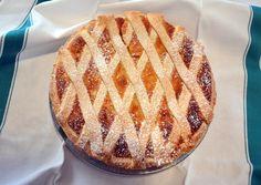 Pastiera Napoletana, dolce di grano e ricotta, cake with  grain and ricotta cheese