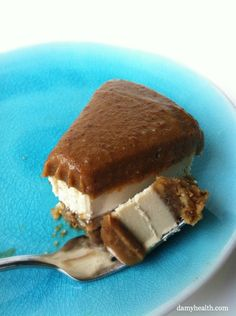 Caramel Blondie Brownie Cheesecake (Vegan/Raw)
