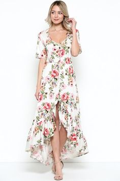 Longwood Gardens Maxi Dress FINAL SALE!