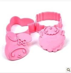 Sanrio My Melody Cookie Cutter. 2 Pieces. on Etsy, $5.68 CAD