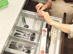 シティテラス加賀 モデルルームのキッチン ソフトクローザー