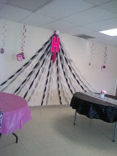 zebra birthday party