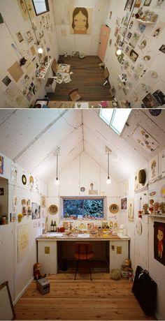 Yoshitomo Nara's Studio