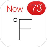 Fahrenheit - Weather Forecast, Radar & the Temperature on your Home Screen Icon by International Travel Weather Calculator