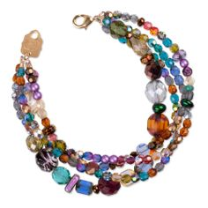 Holly Yashi - Kaleidoscope Bracelet - Colorful strands of crystals make this bracelet incredibly playful. Love this!! :)
