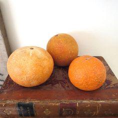 3 vintage marble fruit itatian stone fruit by anythinggoeshere Stone Fruit, Sweet Potato, Vegetables, Marble, Vintage, Etsy, Food, Essen, Vegetable Recipes