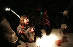 This blog raises the question whether it was ethical for photographer, Chris Hondros to have taken this picture of this little girl after her parents had just been shot by US soldiers.  http://visualcultureblog.com/2011/01/photojournalism-ethics-and-the-afterlife-of-a-photograph/
