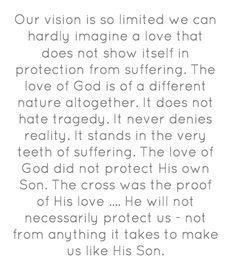 Elisabeth Elliot : the love of God & protection